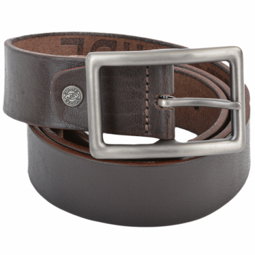 Leather Belt Brown : Stones B5