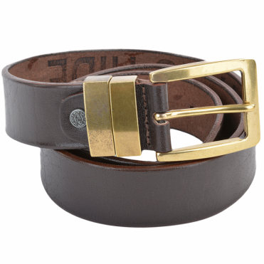Leather Belt Brown : Stones B6