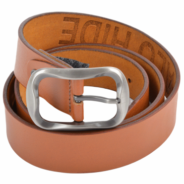 Leather Belt Tan : Stones B1