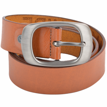 Leather Belt Tan : Stones B2