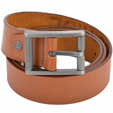 Leather Belt Tan : Stones B3
