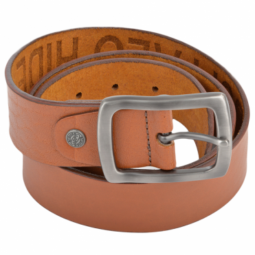 Leather Belt Tan : Stones B4