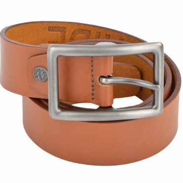 Leather Belt Tan : Stones B5