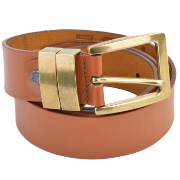 Leather Belt Tan : Stones B6