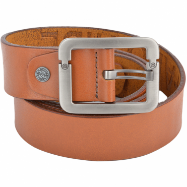 Leather Belt Tan : Stones B7