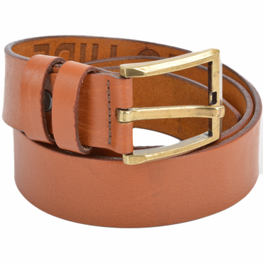 Leather Belt Tan : Stones B8