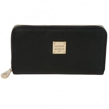 Leather Purse Black : Sy-1132