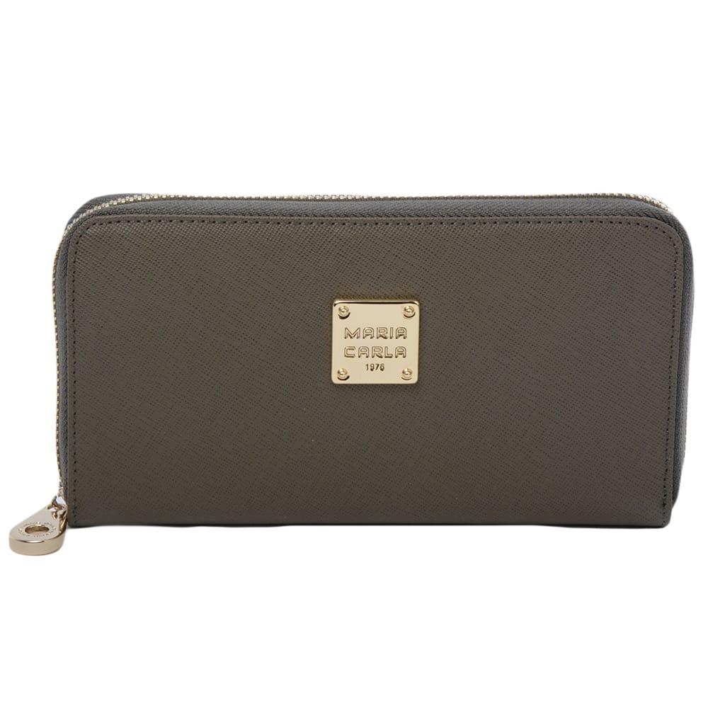 Women S Leather Purse Gray Sy 1132 Maria Carla Purses