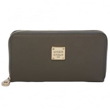Leather Purse Gray : Sy-1132