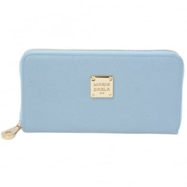 Leather Purse Lt Blue : Sy-1132