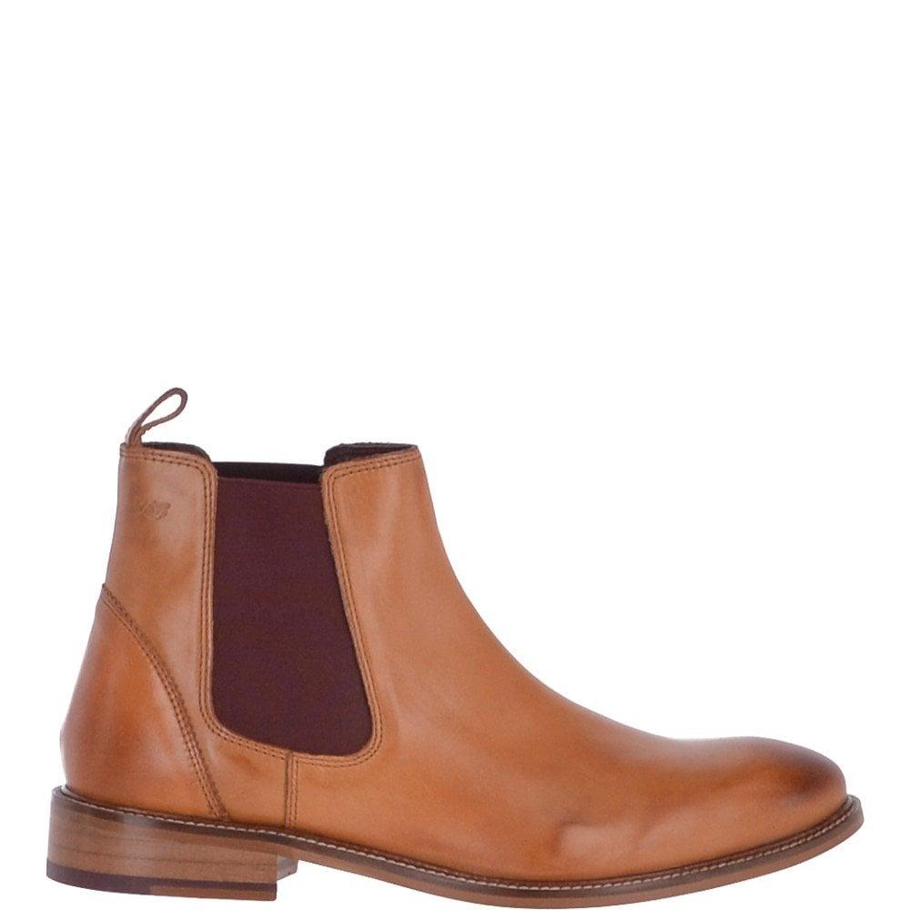 8ba10b88bae Men's Classic Leather Chelsea Boots Tan : Hamilton Boots