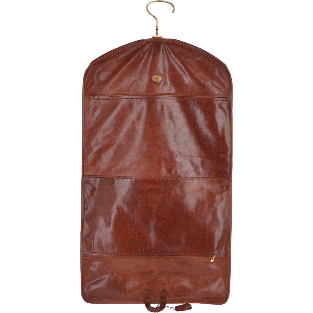 mens leather garment bag