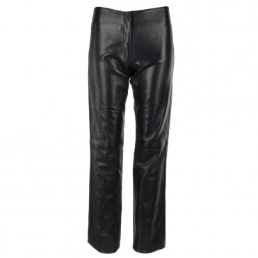 Leather Hipster Trousers Black : Hipsy
