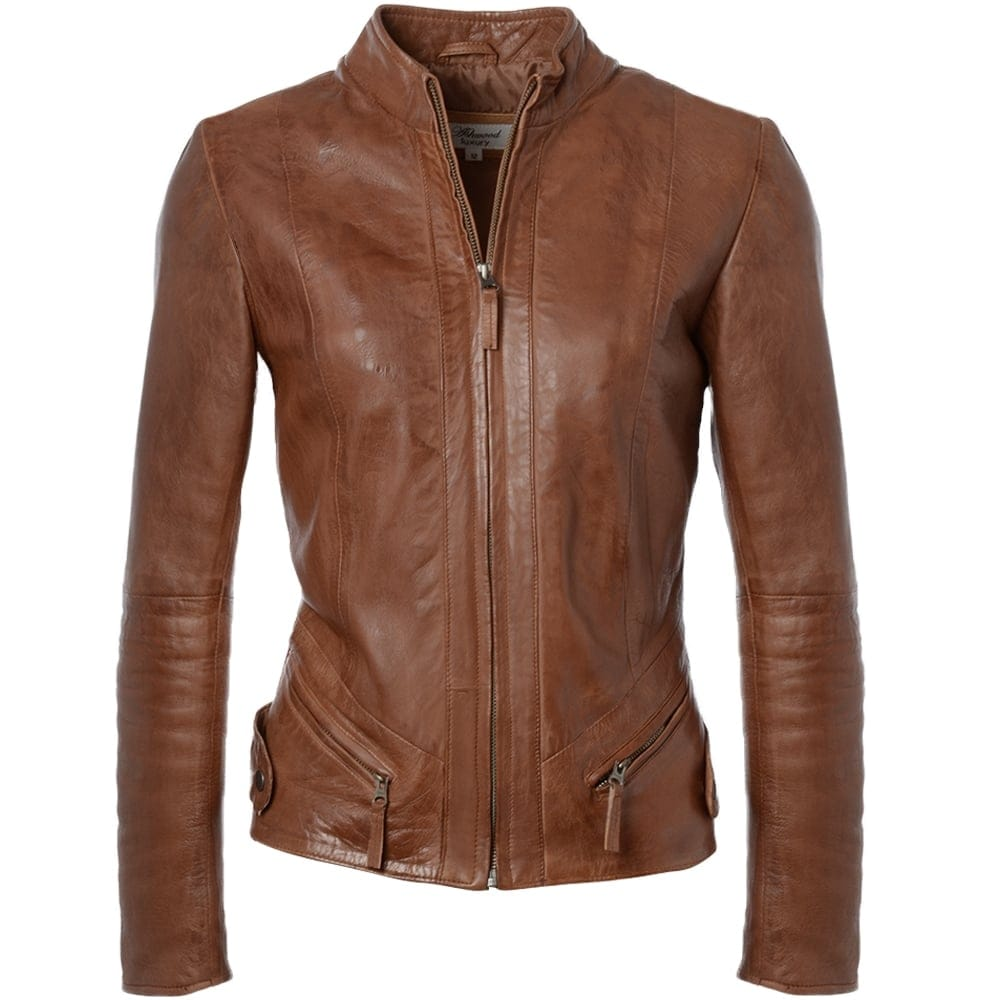 Womans leather jackets