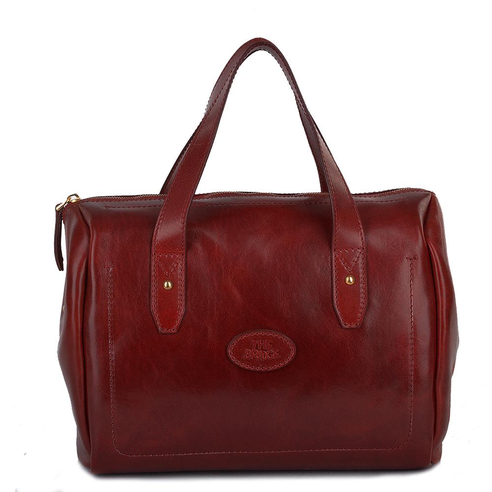 Large Italian Handbag Red 004426301 06 Womens Leather Bags