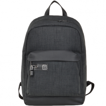 The Bridge B RFID Italian Backpack Charcoal Grey/gun Metal - 060107 3S 6Y NH