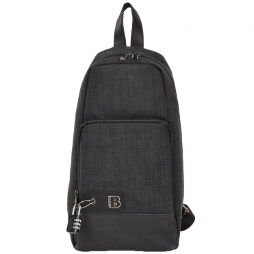 The Bridge B RFID Italian Single Strap Backpack Charcoal Grey/gun Metal - 050117 3S 6Y NH