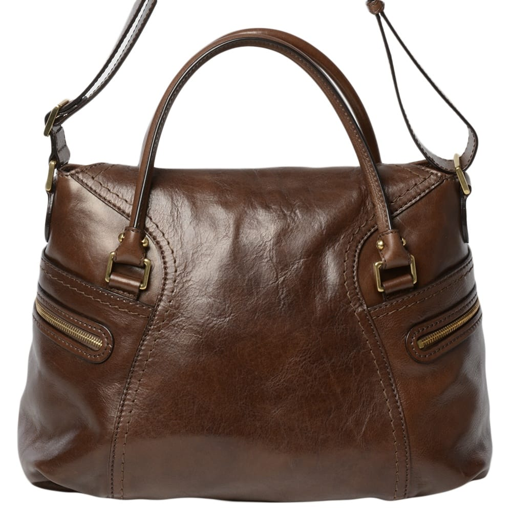 Amazing Women Vintage Looking Brown Leather Messenger Cross Body Bag Handmade Purse | EBay