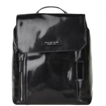 Italian Leather Backpack Black - 63616 01 20 NH