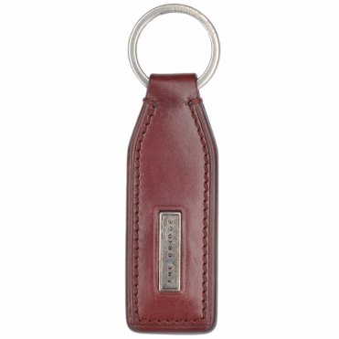 Italian Leather Key Ring Chianti Red : 092124 01 58 NH