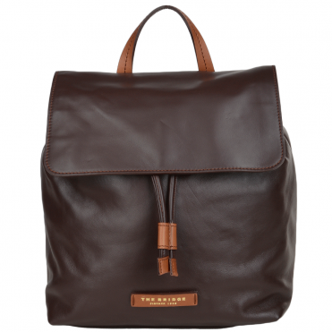 The Bridge Italian Leather Rucksack Brown - 044676 3R 14 NH