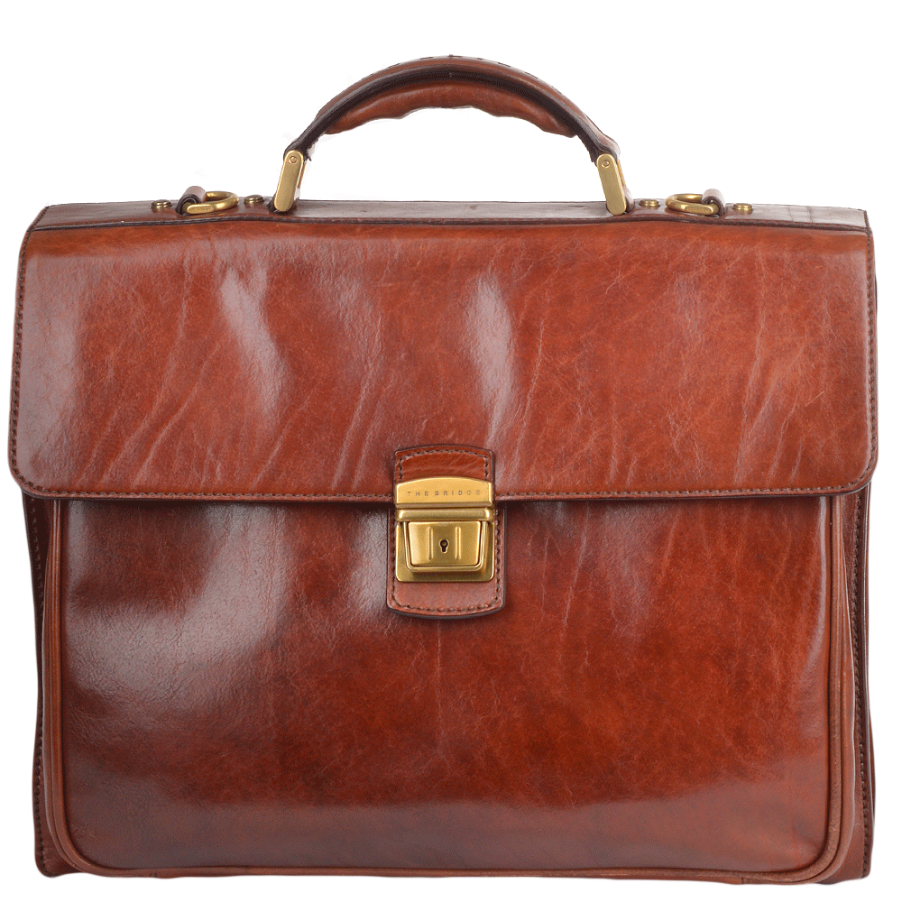 6c32810dd4d ... the latest a5cc5 478bf Pure ITALIAN Leather BAG,  watch 77379 551f8 Italian  Leather Triple Gusset Heavy Duty Briefcase Brown 64478 01 14 NH ...