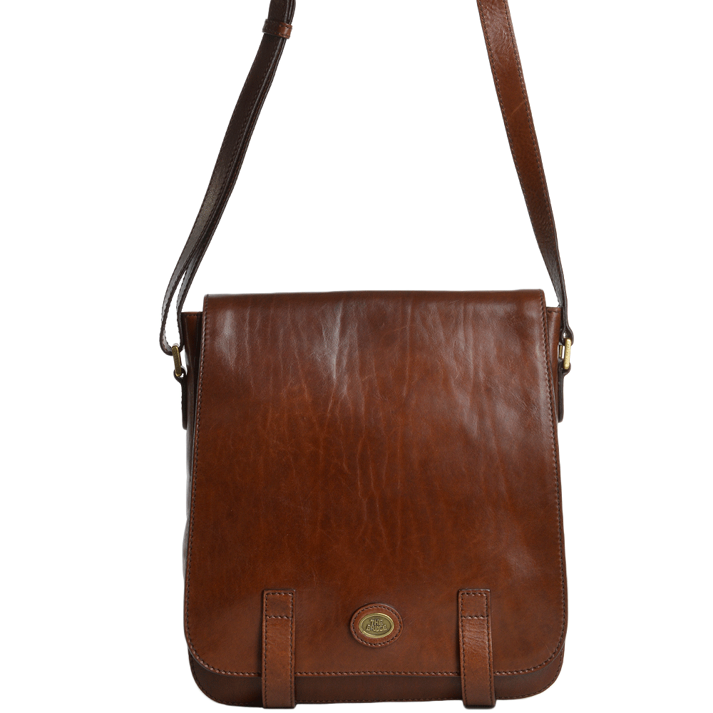 1347afa0679 The Bridge Italian Messenger Bag Brown - 54212 01 14 NH