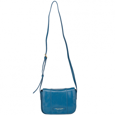 Italian Mini Shoulder Bag Blue/ Gold - 43636 01 6A NH