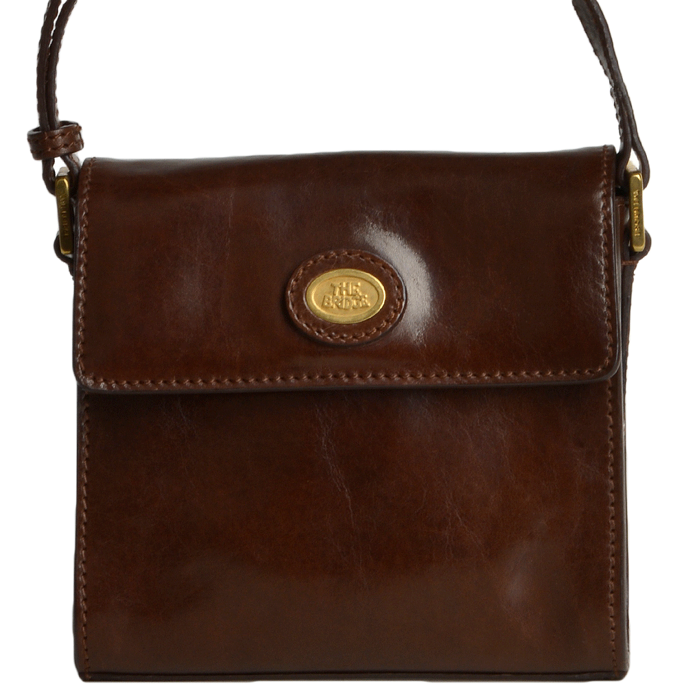 edc8ea0b5e539 The Bridge Italian Mini Shoulder Bag Brown - 44108 01 14 NH