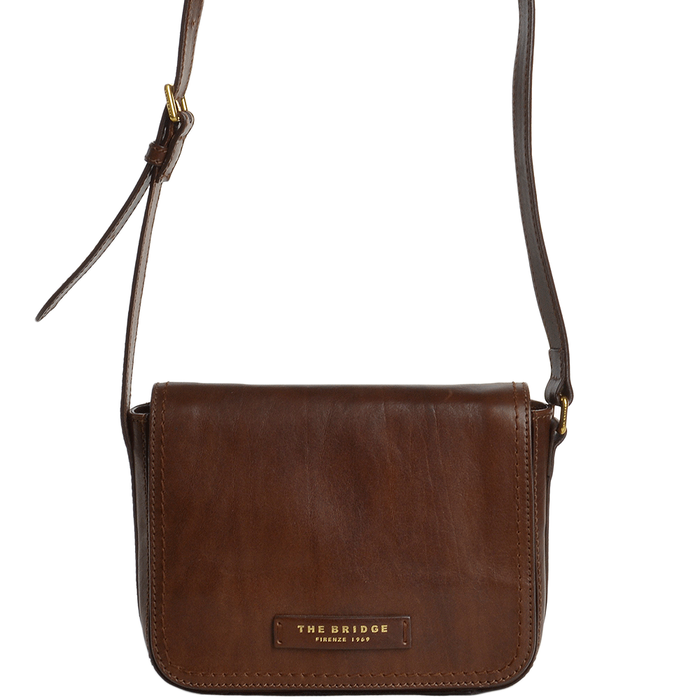 f2aed52015 The Bridge Italian Womens Small Shoulder Bag Brown - 44805 01 14 NH
