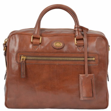 The Bridge Italian Work Bag Brown : 64105 01 14 NH