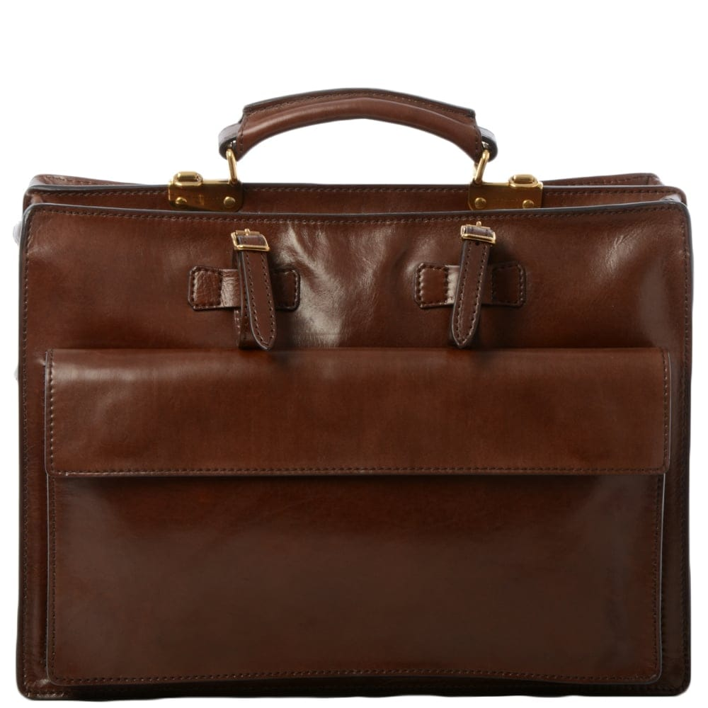 bb3aa1aa7acf Mens Leather Work Bag Brown : 00020854 | Mens Leather Bags | The Bridge