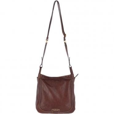 d54e08af3 The Bridge Medium Italian Shoulder Bag Brown - 0407151P