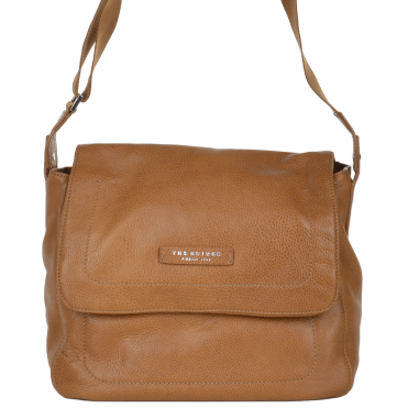 The Bridge Sofia Full Grain Italian Travel Bag Havana Tan - 54126 79 2B NH