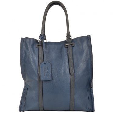 Unisex Shopper Work Bag Blue : 00650141P 2K