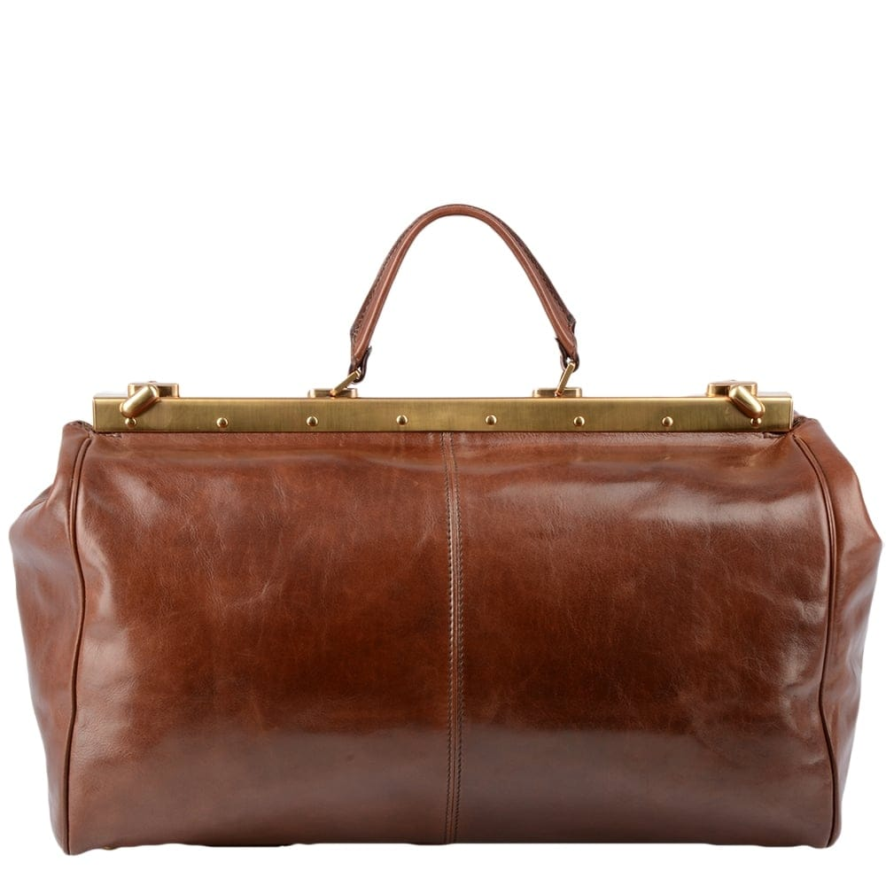 womens leather gladstone bag brown 07431501 leather