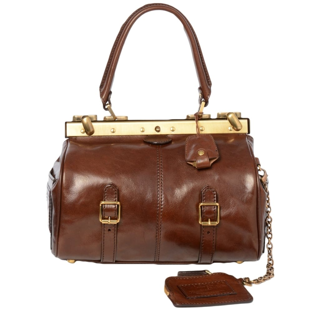 Brilliant Womens Leather Handbag Brown  04420801 | Leather Handbags