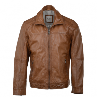 Leather Jacket Cognac : Gary